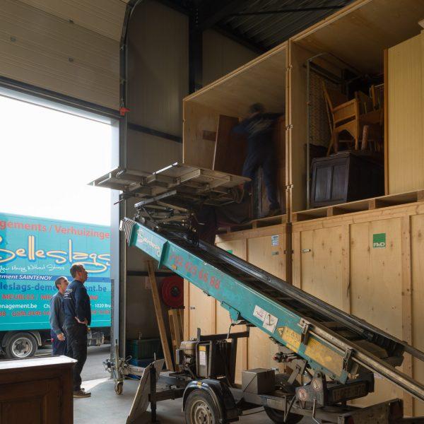 Selleslags déménagement garde-meubles lift