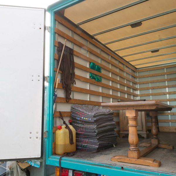 Selleslags déménagement camion